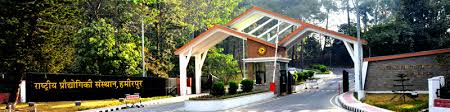 JRF Vacancy at NIT Hamirpur